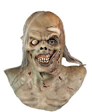 HALLOWEEN ADULT WATER  ZOMBIE  HORROR CORPSE  MASK PROP