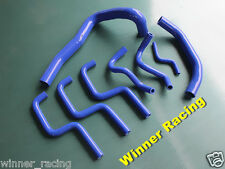 Holden Commodore VL 3.0L 6cyl./L6 RB30E/T silicone radiator coolant hose kit BLU