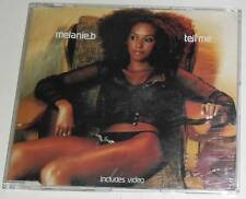 MELANIE B (SPICE GIRLS) - TELL ME - 2000 UK ENHANCED CD SINGLE