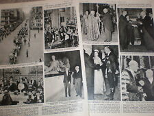 Photo article President Theodor Heuss of Germany visit to London UK 1958