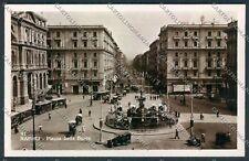 Napoli Foto cartolina D8468 SZD