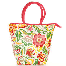 """Insulated Lunch Tote """"Punch Floral"""" from Two Loops"""