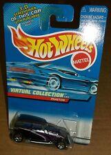 Hot Wheels 2000 #164 Virtual Collection 3D Screensaver Cars Phaeton Black 27130
