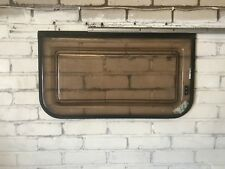 Late 80's Caravan Rear / Side Planet Window 750mm w x 420mm h Dark Tint