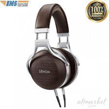 DENON headphone overhead sealed dynamic high resorption wood housing AH-D5200