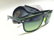 Authentic RAY-BAN RB4147 6094/3M Black/Green/Green Gradient Lens 60mm Sunglasses