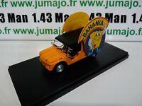 TDF6 voiture Tour De France 1/43 Hachettes CITROËN MEHARI BANANIA