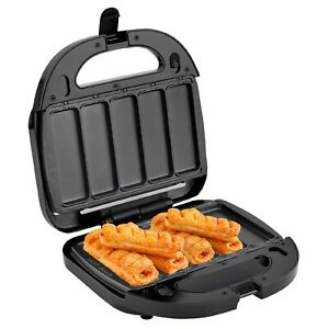 Kitchen Couture Pastry Maker Sausage Rolls Apple Pies Non-Stick Surface Black