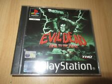 Evil Dead Hail To The King Sony Playstation 1 ps1 mint collectors pal version