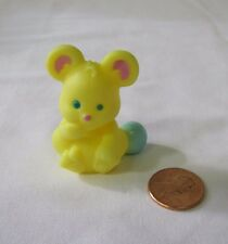 New! Fisher Price Loving Family Dollhouse YELLOW TOY MOUSE BABY INFANT NURSERY