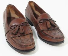 Johnston Murphy Mens Halsey Kiltie Tassel Loafer Shoes Brown 020-2394 Size 9.5 M