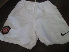 2003-2005 Manchester United  Home Football Shorts Size 12-13 years waist  /bi