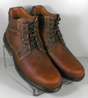5912352 4-MSBT50 Men's Shoes Size 13 M Brown Leather Boots Johnston & Murphy