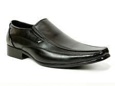 MENS BOYS SMART WEDDING SHOES ITALIAN FORMAL OFFICE CASUAL LEATHER SIZE 6-12