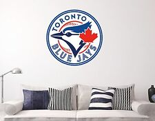 Toronto Blue Jays Logo Wall Decal Sports Baseball Sticker Vinyl Decor MLB Window
