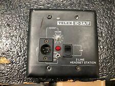 Telex Ic-2A/F 2 Link Headset Station