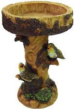 Gardenwize Ornate Birds Birdbath Table Garden Bird Bath Bowl Feature  #SWGSL117