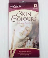 free ship Mont Marte 12 Skin Coloured Pencils MPN 0103_V01