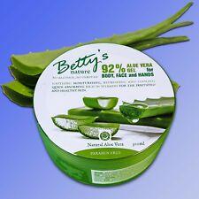 Betty's Nature - Aloe Vera Gel pour Corps, Visage & Hands, Corps Main Crème
