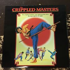CRIPPLED MASTERS 1996 LASERDISC