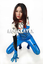 Space Plugsuit Latex Rubber EVA Asuka Langley Catsuit Costume Cosplay