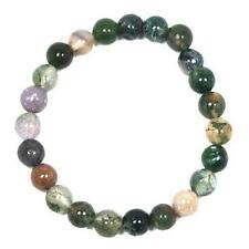 Fancy Jasper Round Beads 8mm Mixed/Green 20+ Pcs Stretchy Bracelet DIY Jewellery