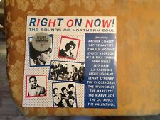 Various:  Right On Now! (Sounds of Northen Soul) Sealed! Record Store Day