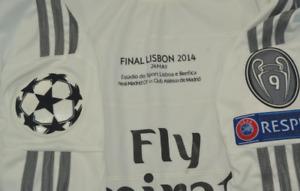 real madrid jersey shirt 2014 ucl final lisbon sergio ramos long sleeve