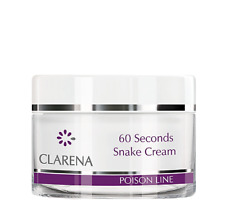 clarena 60 SECONDI SERPENTE Crema 50ml antiage GONFIA RUGA CICATRICI