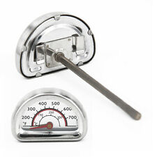 1*Stainless Steel Replacement Thermometer Heat Indicator Fit For Charbroil Grill