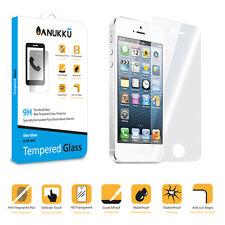 Pellicola Vetro Temperato Anukku Slim 0.26mm Protettiva Per Apple iPhone 5 5s 5C