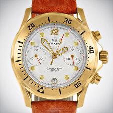 POLJOT Chronograph 3133 Russian mechanical watch Vintage NOS montre russe