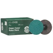 3M Abrasive 405-051131-01408 Green Corps? Roloc? Grinding Coated-Polyester Disc