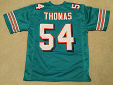 UNSIGNED CUSTOM Sewn Stitched Zach Thomas Teal Jersey - Extra Large 921c82348