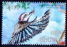 Cu ban Green Woodpecker (Xiphidiopicus percussus), Birds, Bhutan 1999 MNH - F40