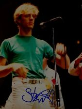 Stewart Copeland  signed 8x10 The Police