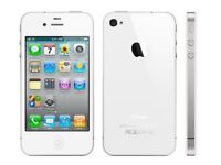 Apple Iphone Handy 4s / 16 GB weiß /whit (ohne Simlock) Smatphone mit Rechnung