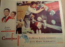 "JERRY LEWIS - ""'CINDERFELLA - Original Lobby Card - 1960 - Norman Rockwell art"