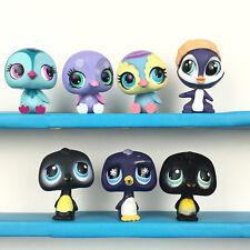 Authentic Lot 7 Littlest Pet Shop Penguin LPS Set / Pingouin Petshop .