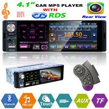 4,1'' 1DIN Touchscreen Auto MP5 MP3 Player RDS AM FM Radio Bluetooth USB AUX TF