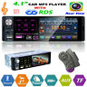 4,1'' 1DIN Touchscreen Auto MP5 MP3 Player RDS AM FM Radio Bluetooth USB AUX TF
