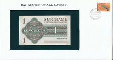 Banknotenbrief - Suriname / Surinam - 1 Gulden 1984 UNC