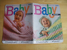 Vintage American Thread Co. Baby Book Knit And Crochet Book #159