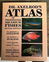 Großes Aquarienbuch Buch Fische Aquarien Atlas Dr. Axelrod`s
