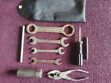 Yamaha RD350A/B genuine tool kit and tool bag RD250A/B 1973