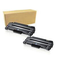 2 High Yield MLT-D105L Toner Cartridge D105S For Samsung ML-2525 2525W SCX-4623F