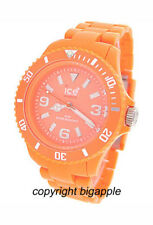 ICE WATCH ORANGE PLASTIC 50 METER UNISEX WATCH CF.OE.U.P.10