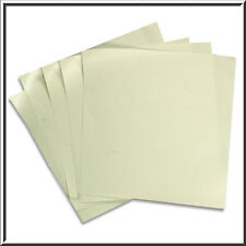 10 140 x 140MM PALE IVORY CARD FOR OUR SQUARE POCKETFOLDS RANGE 290GSM