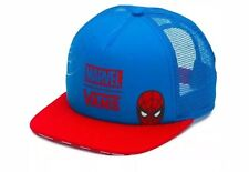 Vans x Marvel Spider Man Spidey Unisex Trucker Hat Cap Blue Red Free Ship New