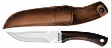 """NEW Tramontina 6""""Polywood Handle Standard Hunting Outdoor Knife with sheath"""